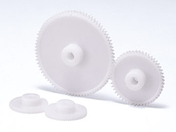 Injection Molded Plastic Spur Gears