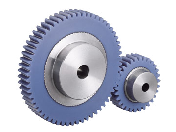 Plastic Spur Gears Stainless Hub